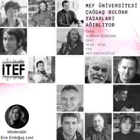 MEF University Hosts Contemporary Bulgarian Authors
