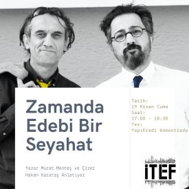 A Literary Journey through Time: A Talk with the Author Murat Menteş and the İllustrator Hakan Karataş